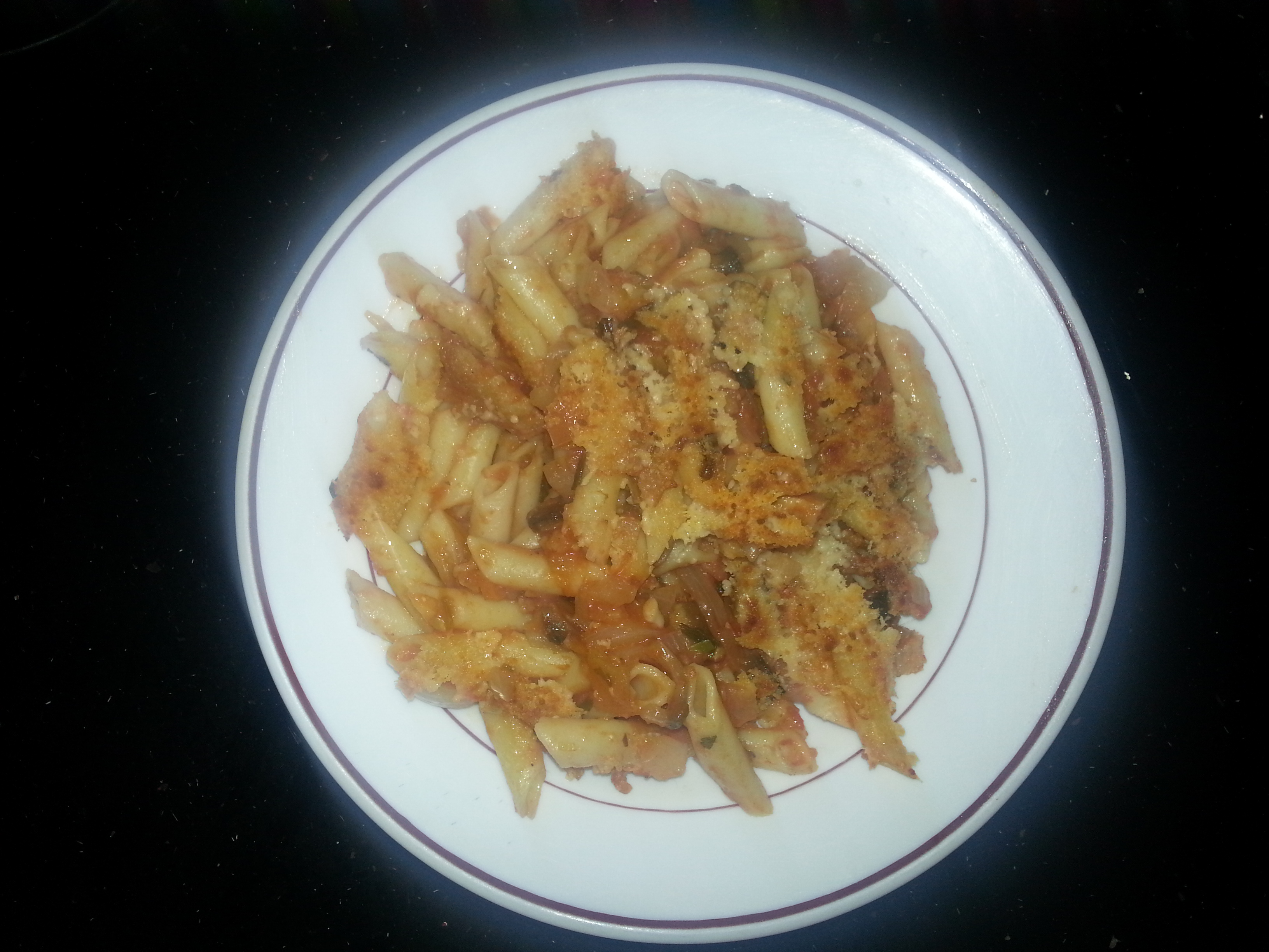 Macarrones con verduras al horno cocina f cil y barato - Macarrones con verduras al horno ...