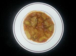 Marmitako con patatas