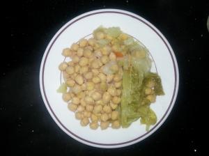 Garbanzos de cocido madrileño