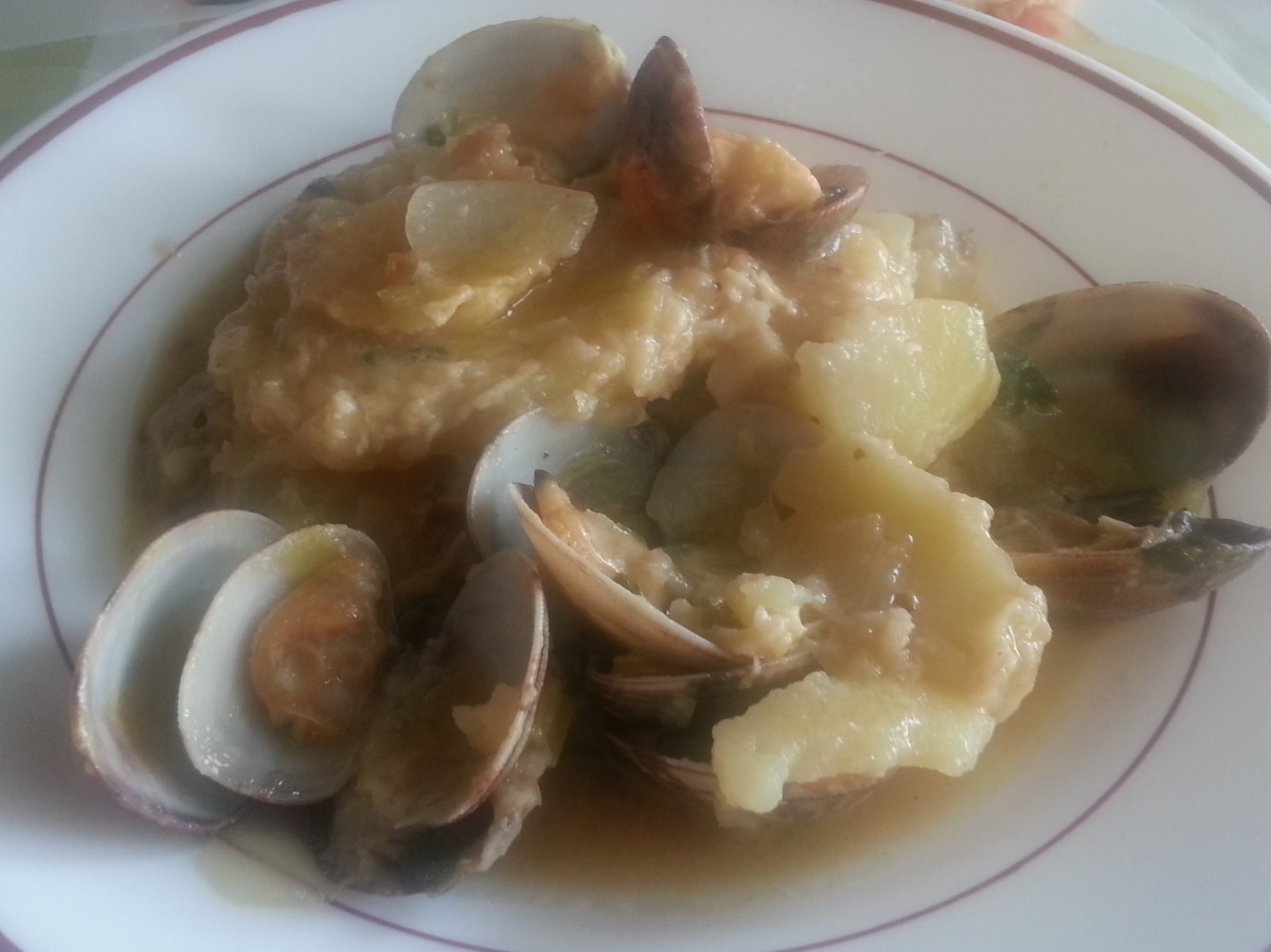 patatas a la importancia con almejas cocina f cil y barato